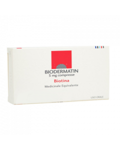 Biodermatin 5mg 30 Compresse