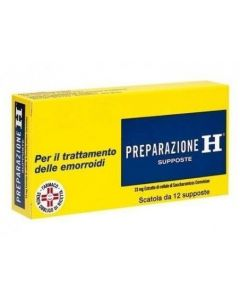 Preparazione H 23mg 12 Supposte