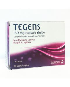 Tegens 20 Capsule Rigide 160 mg
