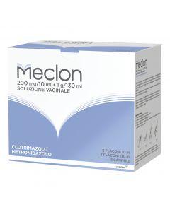 Meclon 200 mg/10 ml + 1 g/130 ml Soluzione Vaginale 5 Flaconi
