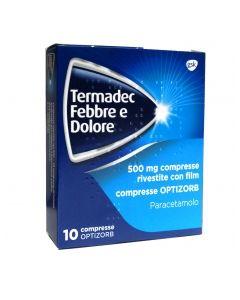 Termadec Febbre E Dolore 500 Mg Compresse Rivestite Con Film - Compresse Optizorb