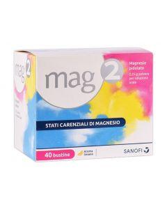 Mag 2 Integratore Di Magnesio 40 Bustine 2,25G