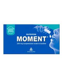 Moment*os Sospensione orale 8 bustine 200mg
