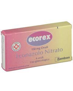 Zambon Ecorex 6 Ovuli Vaginali 150mg