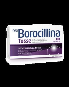 NEO BOROCILLINA TOSSE 10 MG + 1,2 MG PASTIGLIE