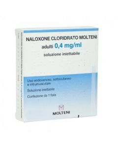 Naloxone Cloroidrato Molteni  0,4mg  1 Fiala 1ml