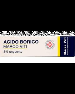 Acido Borico Marco Viti3% Unguento Dermatologico 50g
