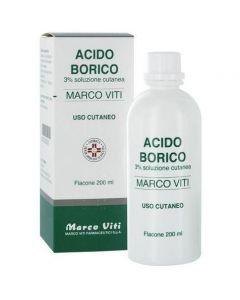 Acido Borico Marco Viti 3% 200 ml