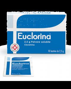 EUCLORINA 2,5 G POLVERE SOLUBILE