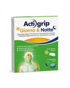 ACTIGRIP GIORNO &NOTTE COMPRESSE