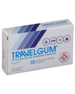 Travelgum*10 Gomme Masticare 20Mg