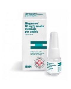 NIOGERMOX 80 MG/G SMALTO MEDICATO PER UNGHIE