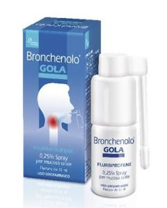 Bronchenolo Gola Spray 15ml