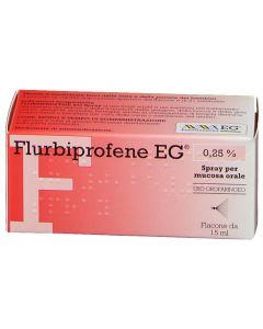 Flurbiprofene Eg Epifarma  0,25% Soluzione Spray 15ml