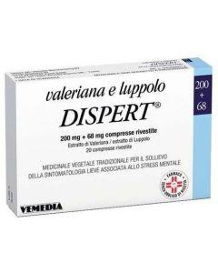 Vemedia Valeriana E Luppolo Dispert 20 Compresse