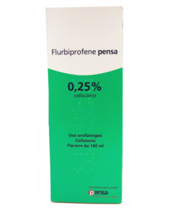 Flurbiprofene Pensa 0,25% Collutorio 160ml