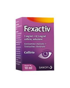 Fexactiv Collirio 1 Flacone 10 Ml