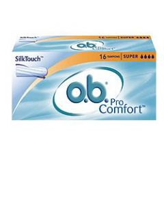 O.b.® Procomfort™ Super Per Flusso Da Medio A Pesante 16 Pezzi