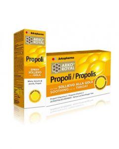 Arkopharma Pack Gola Propoli Spray + Pastiglie
