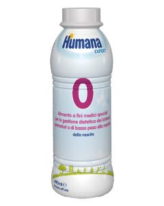 Humana 0 Expert 490ml Bott