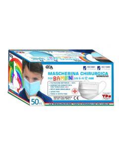 Gda Mascherina Chir 6/12a 50pz