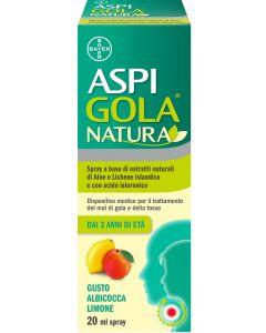Aspi Gola Natura Spray Alb/lim