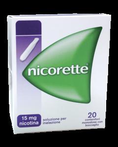 Nicorette Inhalator Soluzione Inalante 20 Filtri 15mg