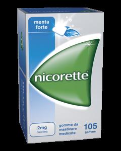 Nicorette alla Menta 105 Gomme da Masticare 2Mg