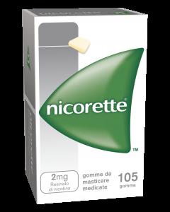 Nicorette Original 105 Gomme da Masticare 2Mg
