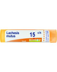 Lachesis Mutus 15 Ch Granuli