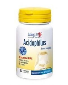 Longlife Acidophilus 30 Tavolette Masticabili