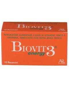 Biovit 3 10 Flaconi Bevibili 10ml integratore di vitamine