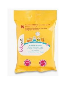 Saugella Lina Babygella / Linea Igiene Salviettine Detergenti 15 Pezzi