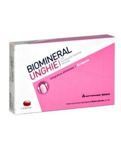 Biomineral Unghie Integratore Alimentare 30 Capsule Molli