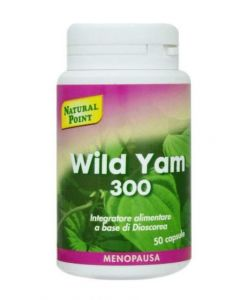 Natural Point Wild Yam 300 20% Integratore Alimentare 50 Capsule Da 300mg