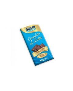 Giusto Tavoletta Di Cioccolato Al Latte Senza Zuccheri Aggiunti 85g