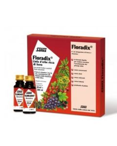 Floradix Linfa D'erbe Ricca Di Ferro Integratore Alimentare 10 Flaconcini