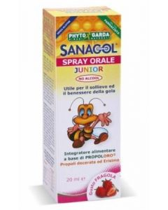 Phyto Garda Sanagol Spray Junior Propoli Gusto Fragola 20ml