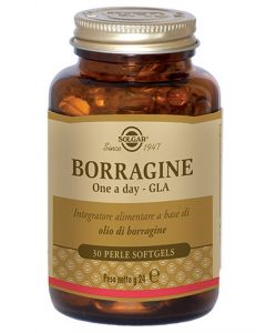 Solgar Borragine One A Day Gla 30 Perle