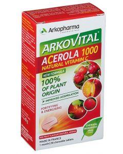 ACEROLA 30 COMPRESSE MASTICABILI contro la stanchezza