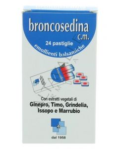 BRONCOSEDINA CM 24PAST 70G