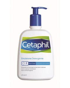 Cetaphil Detergente Fluido Flaconi Da 250ml E 470ml