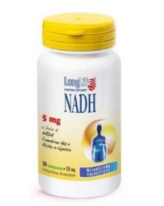 Longlife Nadh 5mg Integratore Alimentare 30 Compresse