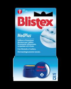 Blistex MedPlus Vasetto Da 7g per labbra danneggiate