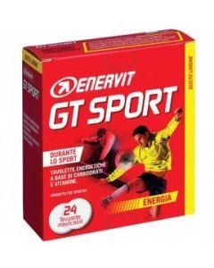 Enervit Gt Sport Limone Integratore Alimentare 24 Tavolette Masticabili
