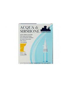 Acqua Sirmione Minerale Naturale sulfurea 6 flaconcini da 15 ml