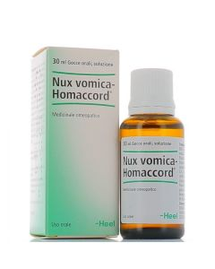 Heel Nux Vomica-Homaccord Gocce 30ml