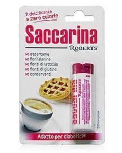 Saccarina Roberts 100 Compresse 3 Tubi