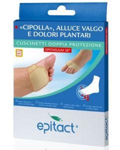 Epitact Alluce Valgo Dolori Plantari Cuscinetti Doppia Protezione Epithelium 26 Misura L 1 Paio