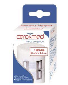 BENDA ELASTICA CEROXMED 6X450CM CON GANCIO